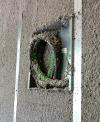 Insufflaggio a spruzzo con climacell® per isolamento termico e acustico - Dettaglio
